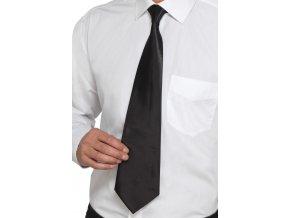 Černá kravata Deluxe