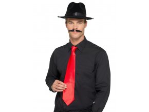 Červená kravata Deluxe