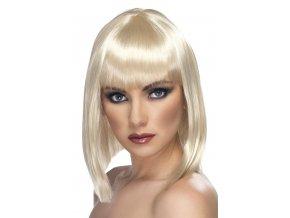 Dámská paruka Mikádo blond s ofinou