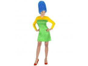Dámský kostým Marge Simpson