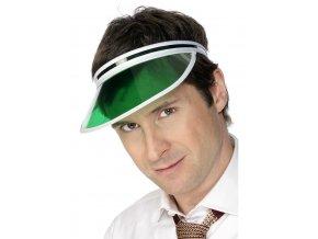 Poker kšilt zelený