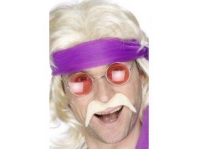 Knír 70. léta - blond