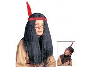 Dětská paruka Indián/Indiánka