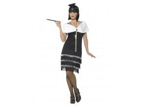 Dámský kostým šaty Charleston