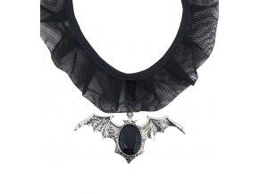 Gothic náhrdelník s netopýrem