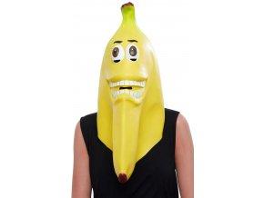 Latexová maska Banán