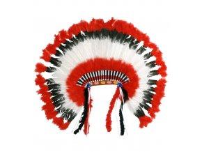 Indiánská čelenka Náčelník kmene