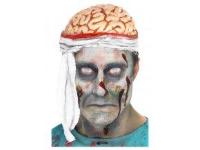 Čepice Mozek s obvazem