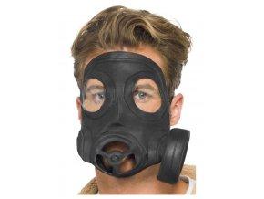 Latexová plynová maska
