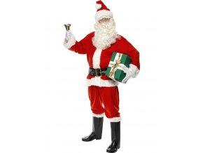 Pánský kostým Santa deluxe