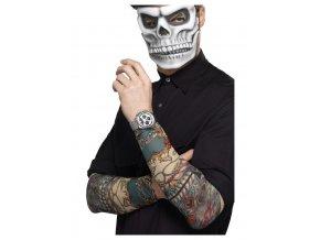 Potetovaný rukáv Den mrtvých