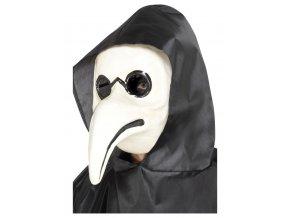 Bílá maska Morový doktor