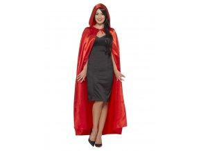 Červený plášť s kapucí