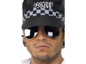 Brýle Policista/Pilot stříbrné