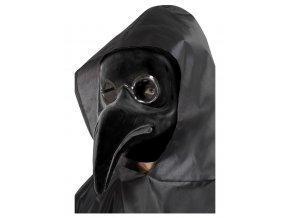 Černá maska Morový doktor