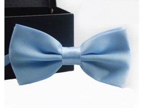 Elegantní motýlek světle modrý