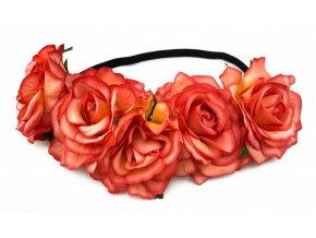 8600 kvetinova celenka ruze oranzova