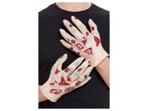 Latexové zombie ruce
