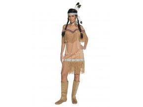 Dámský kostým Indiánská žena