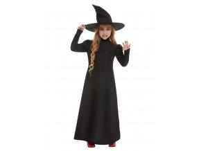 Dětské šaty Čarodějka
