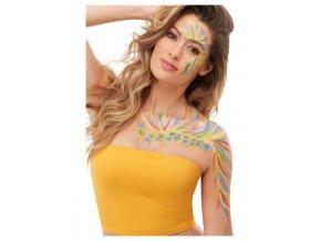 Barvy na tělo Hippies