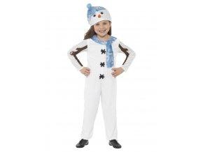 Dětský kostým Sněhuláka