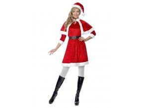 Dámský kostým pro paní Santovou