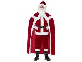 Pánský kostým deluxe Santa