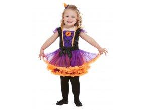 Dětské šaty s dýní