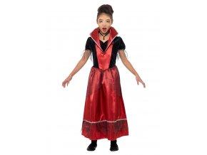 Dětský kostým Upíří princezna
