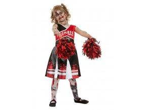 Dětský kostým zombie Roztleskávačka