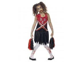 Dětský kostým zombie Roztleskávačky