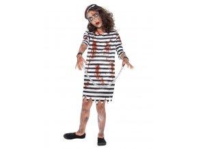 Dětský kostým zombie Vězenkyně