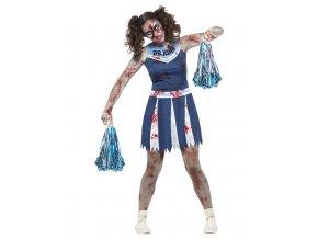 Dívčí kostým zombie roztleskávačka