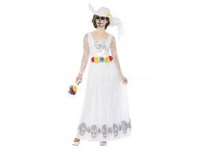 Dámský kostým Nevěsty Den mrtvých