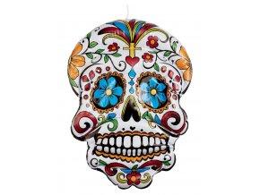 Nafukovací maska Den mrtvých
