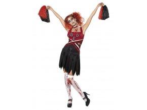 Dámský kostým zombie Roztleskávačka