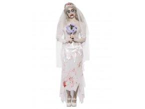 Dámský kostým zombie Nevěsty