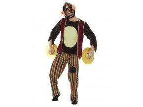 Pánský kostým zombie opice deluxe