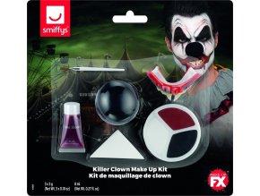 Make-up Klaun zabiják