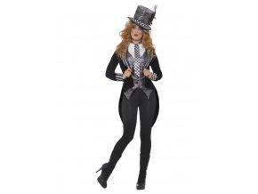 Dámský kostým duch Kloboučnice Deluxe