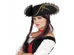 Dámský klobouk Pirátka