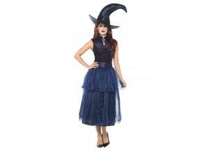 Dámský kostým půlnoční čarodějka deluxe