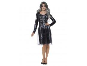 Dámský kostým lady skeleton