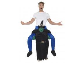 Kostým Jízda na zádech čarodějnice