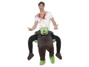 Kostým Jízda na zádech zombie