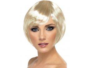 Dámská paruka 30.léta blond