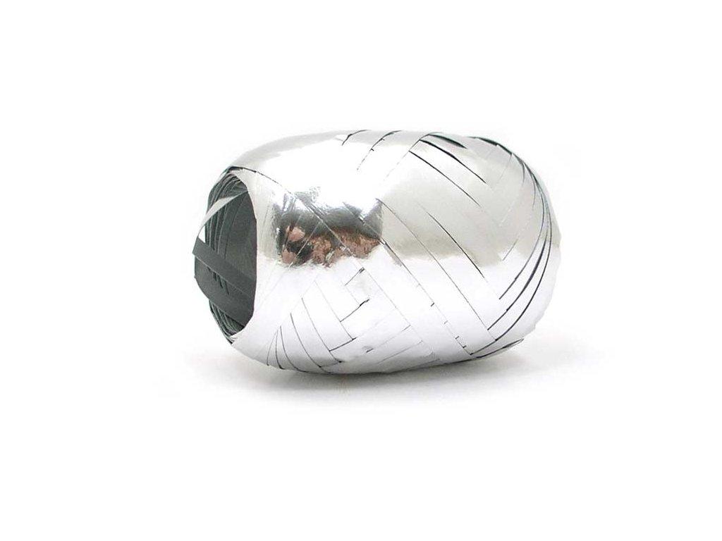 stuha vázací 20m metal stříbrná 9310 5660062