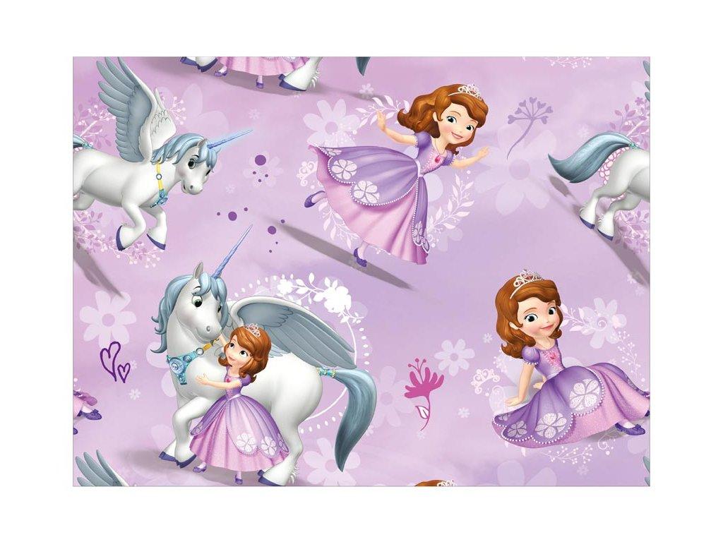 balící papír Disney Y043 (Sofia the First) 100x70 LUX 5811453