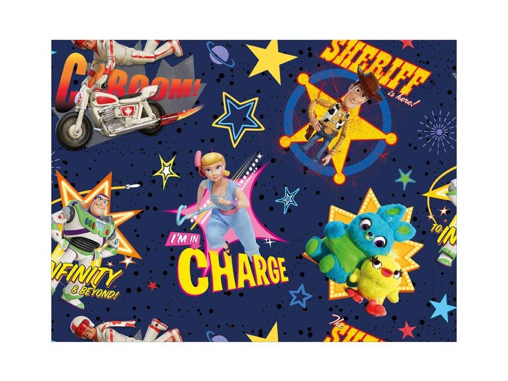 balící papír Disney Y044 (Toy Story) 100x70 LUX 5811454